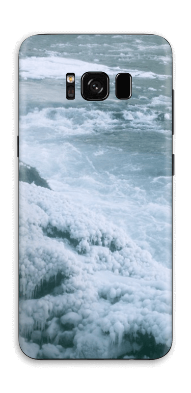 Blue winter Skin Galaxy S8