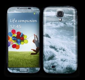 Blue winter Skin Galaxy S4