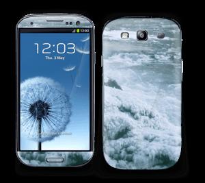 Blue winter Skin Galaxy S3