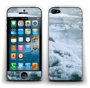 Blue winter Skin IPhone 5