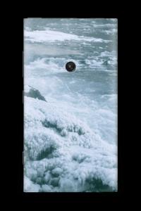 Blue winter Skin Nokia Lumia 920