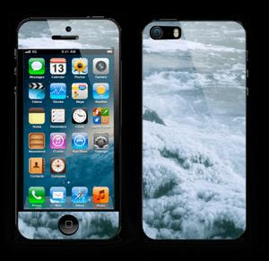 Blue winter Skin IPhone 5s