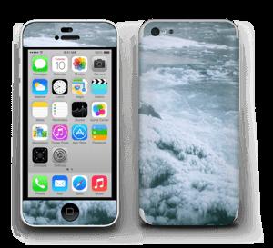 Blue winter Skin IPhone 5c