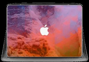 "Foss med bølger Skin MacBook Pro Retina 13"" 2015"