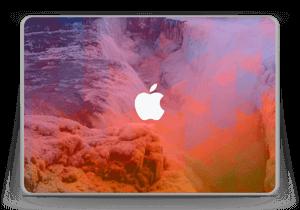 "Foss med bølger Skin MacBook Pro 13"" -2015"