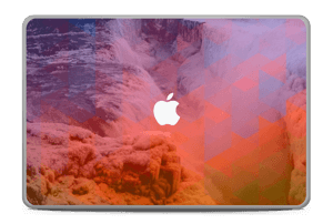"Foss med bølger Skin MacBook Pro 17"" -2015"
