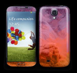 Foss med bølger Skin Galaxy S4