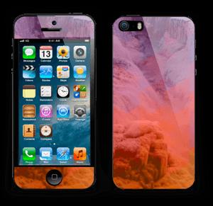 Foss med bølger Skin IPhone 5s