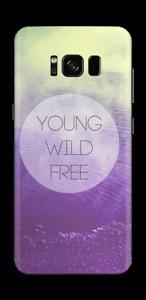 Ung og fri Skin Galaxy S8
