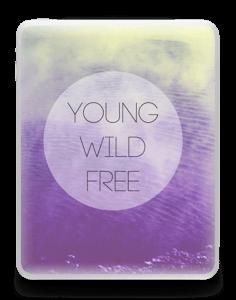Ung og fri Skin IPad 1