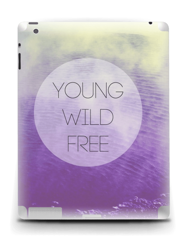 Ung og fri Skin IPad 4/3/2