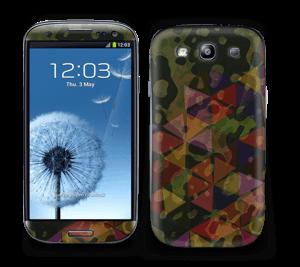 Camo og Trekanter Skin Galaxy S3
