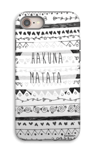 Hakuna Matata case IPhone 8 tough