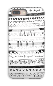Hakuna Matata case IPhone 8 Plus tough