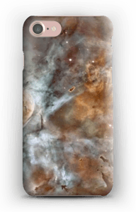 Blue, orange galaxy case IPhone 7