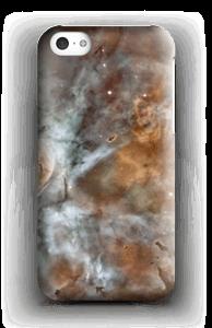 Blue, orange galaxy case IPhone 5c