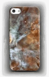Blue, orange galaxy case IPhone SE