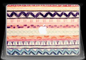 "Hand Drawn Aztec Skin MacBook Pro 13"" -2015"