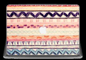 "Hand Drawn Aztec Skin MacBook Pro Retina 15"" 2015"
