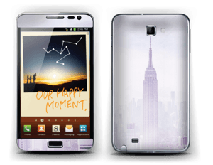Empire State of Mind Skin Galaxy Note