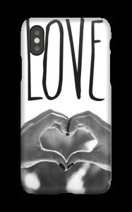 Hjertelig hender deksel IPhone X