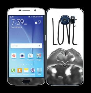 Hjertelig hender Skin Galaxy S6