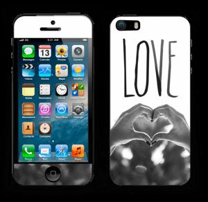 Hjertelig hender Skin IPhone 5s