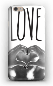 Hjertelig hender deksel IPhone 6