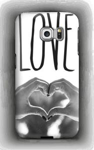 Hjertelig hender deksel Galaxy S6 Edge