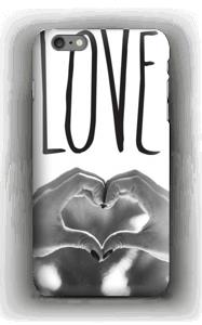 Hjertelig hender deksel IPhone 6s Plus