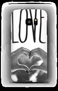 Hjertelig hender deksel Galaxy S7 Edge