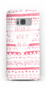 Pink Power deksel Galaxy S8