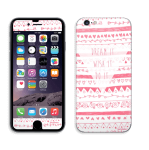 Pink Power Skin IPhone 6/6s