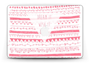 "Pink Power Skin MacBook Pro Retina 13"" 2015"