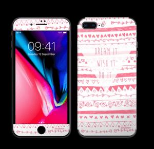 Pink Power Skin IPhone 8 Plus