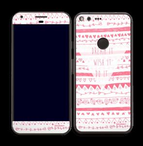 Pink Power Skin Pixel XL
