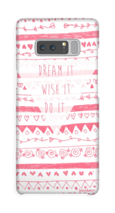 Pink Power deksel Galaxy Note8