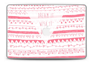 "Pink Power Skin MacBook Pro 15"" -2015"