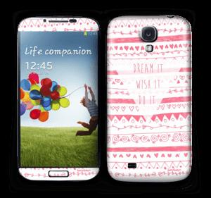 Pink Power Skin Galaxy S4
