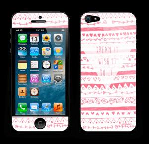 Pink Power Skin IPhone 5