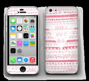 Pink Power Skin IPhone 5c