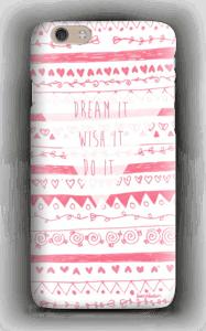 Pink Power deksel IPhone 6