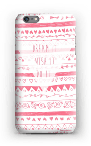 Pink Power deksel IPhone 6s Plus