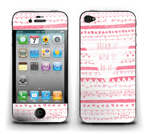 Pink Power Skin IPhone 4/4s