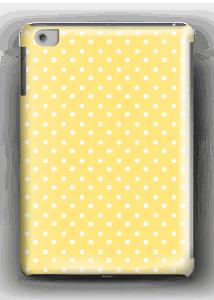 Yellow and white dots case IPad mini 2