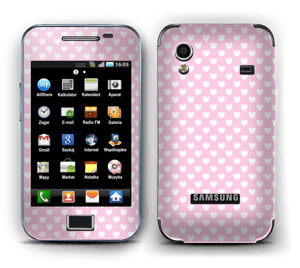 Cute hearts Skin Galaxy Ace