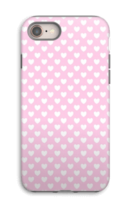Cute hearts case IPhone 8 tough