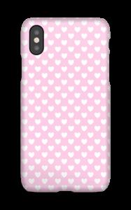 Cute hearts case IPhone X