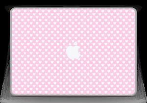"""Cute hearts Skin MacBook Pro 13"""" -2015"""
