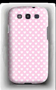 Cute hearts case Galaxy S3